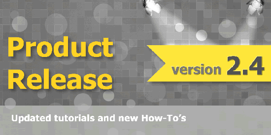 Product Release 2.4